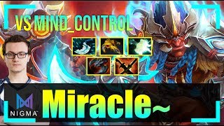 Miracle - Troll Warlord MID | vs MinD_ContRoL (Faceless Void) | Dota 2 Pro MMR Gameplay #22