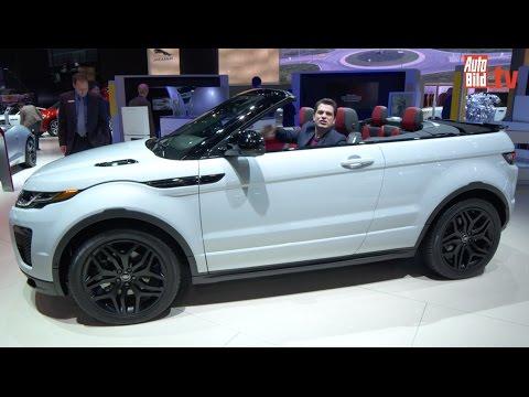 Range Rover Evoque Cabrio (LA 2015) - erste Sitzprobe