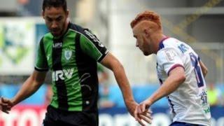 Gols, Bahia 1 x 1 América-MG - Brasileirão Série B 22/08/2015