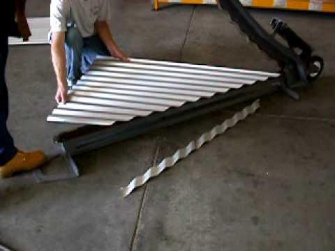Video Clip Hay Metal Cutting Shear Swenson Model 42