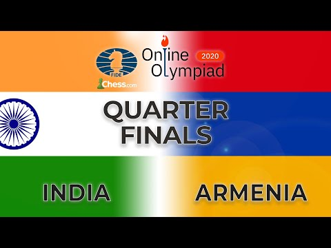 Online Olympiad Quarter Finals || India Vs Armenia