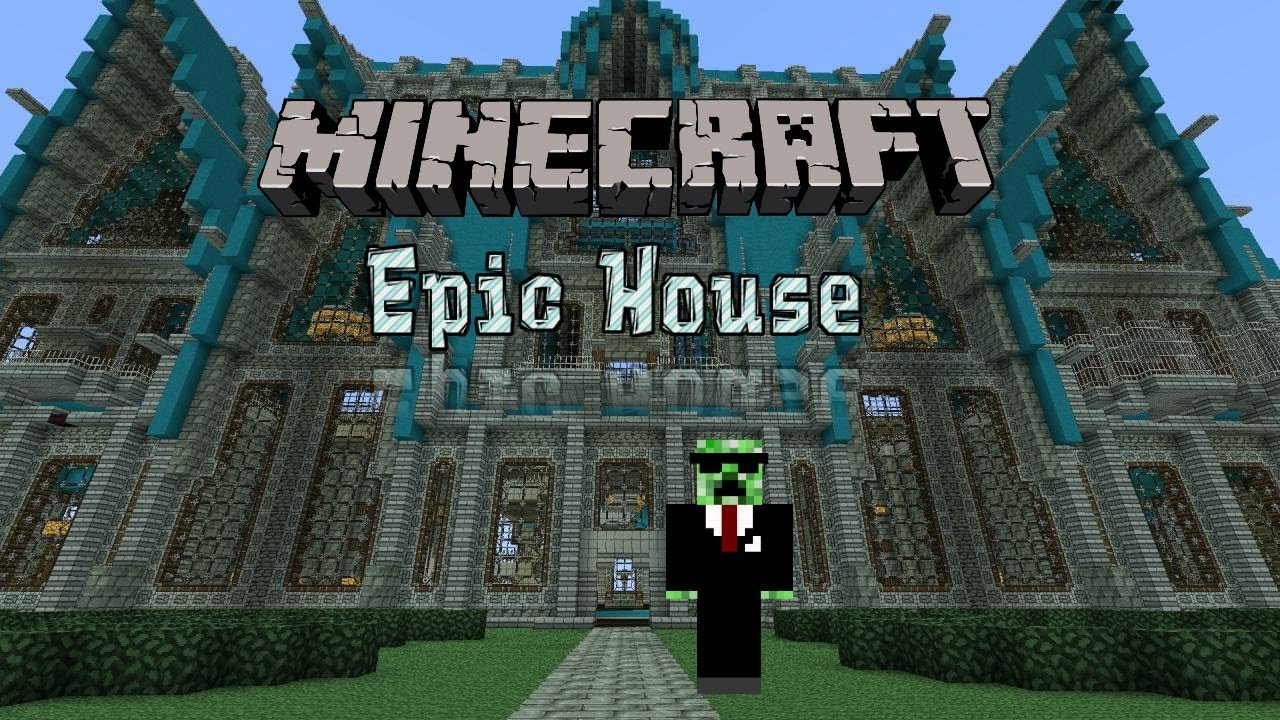 The Best Minecraft House Ever Built  In Less Than 5mins