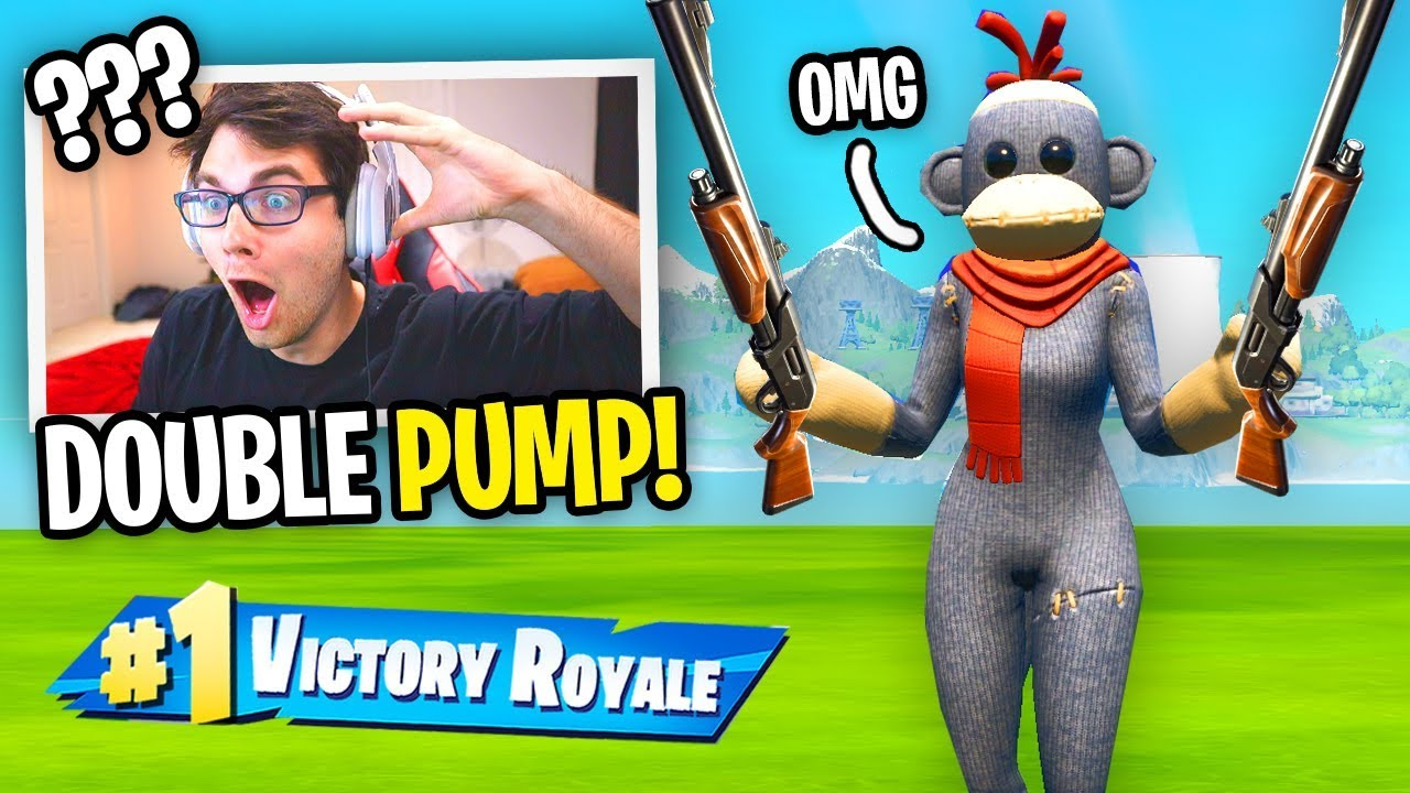 DOUBLE PUMP is Finally BACK in Fortnite and I used it... (not clickbait) thumbnail