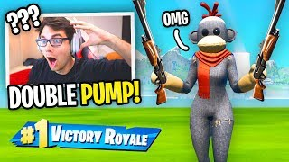 DOUBLE PUMP is Finally BACK in Fortnite and I used it... (not clickbait)