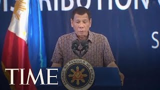 Philippines' Duterte Threatens To End U.S. Military Pact Over Senator's Entry Visa | TIME