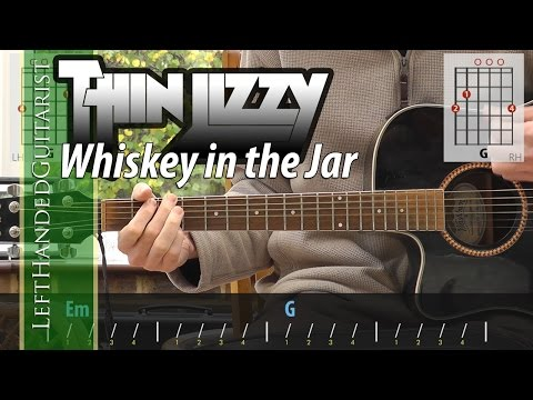 Thin Lizzy - Whiskey In The Jar acoustic guitar lesson