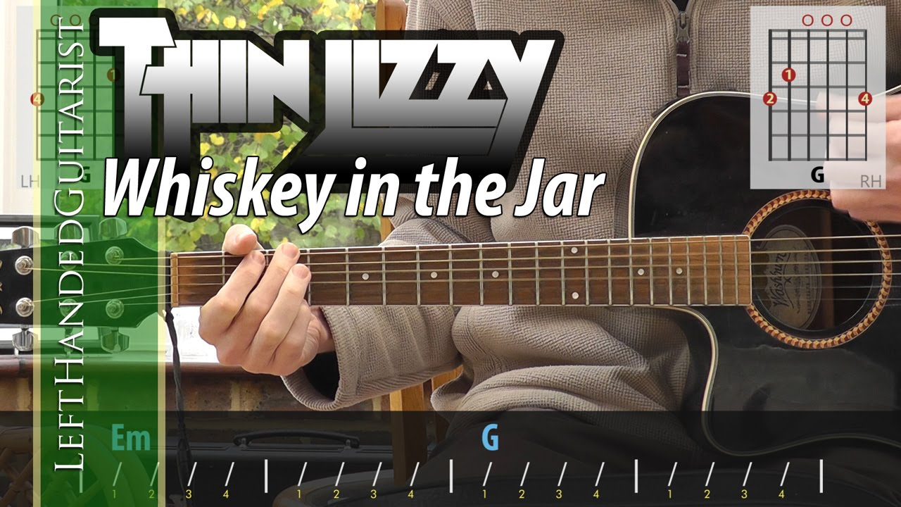 Thin Lizzy Whiskey In The Jar Acoustic Guitar Lesson Youtube