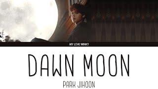 "Park jihoon (박지훈) - ""dawn moon"" (새벽달) color coded lyrics ..."