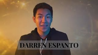 Darren Espanto on 51st Box Office Entertainment Awards ?