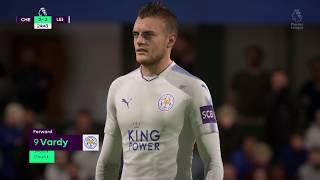 English Premier League 18 Chelsea vs Leicester City