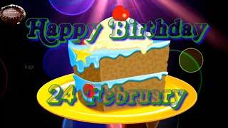 24 February Special Birthday Status