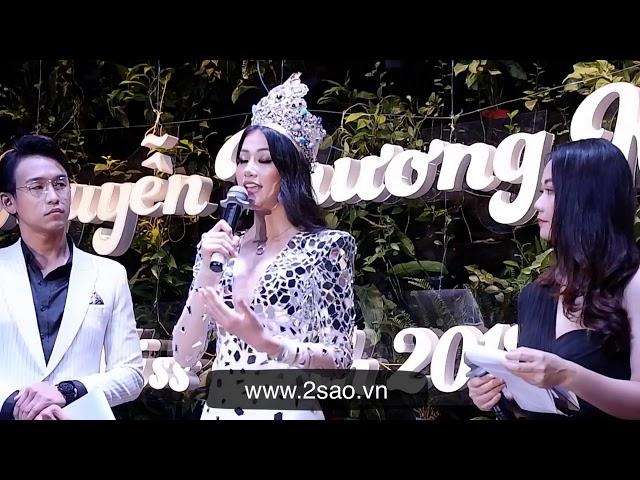 Phương Khánh khóc phủ nhận việc mua giải Miss Earth 2018