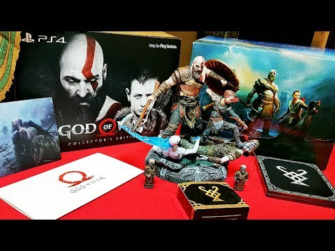 GOD OF WAR 4 Collector's Edition Unboxing (EU)