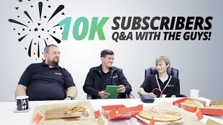 10K SUBSCRIBERS #DATACENTRE Q&A w/ PAV, ASH & JAMES! ANSWERING YOUR COMMENTS!