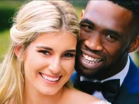 Download Siya Kolisi's beautiful wedding   FULL INSERT