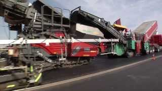 VÖGELE InLine Pave - Die Runway-Sanierung am Flughafen Rostock-Laage