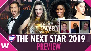 Israel's Next Star for Eurovision 2019 Preview | wiwibloggs