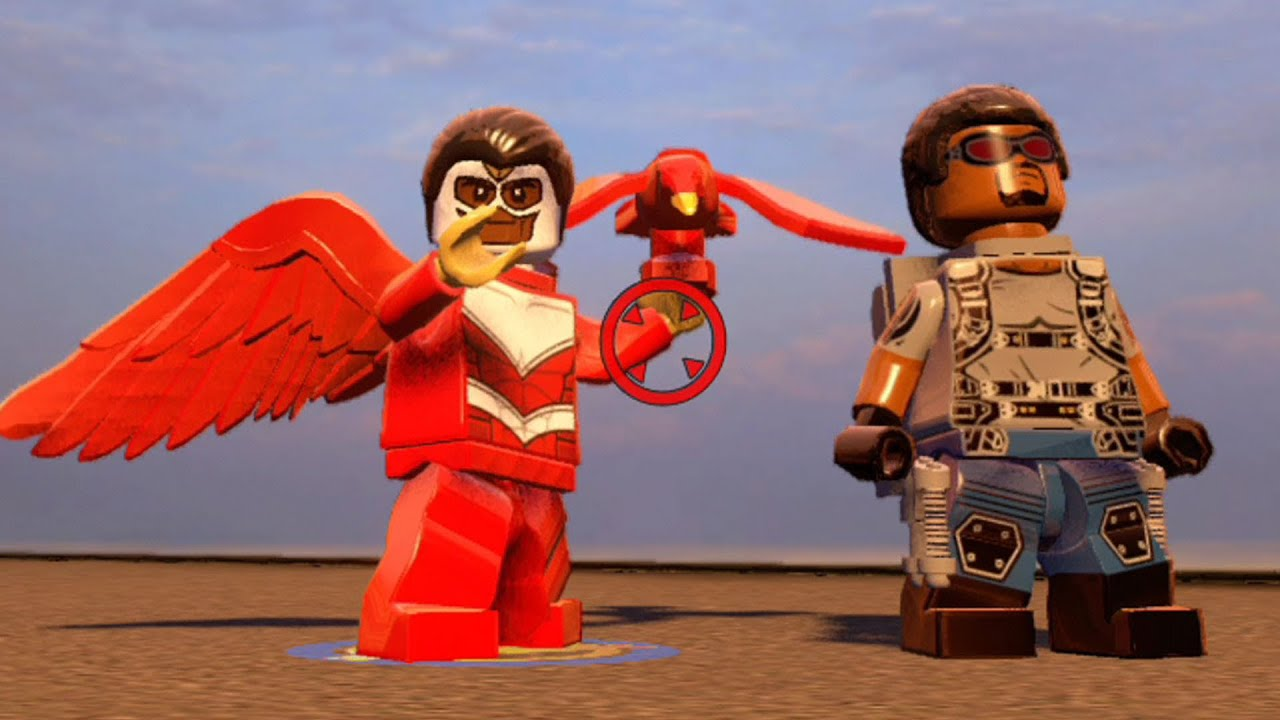 LEGO Marvel's Avengers - Falcon | Free Roam Gameplay [HD ...