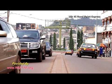 Yaounde Cameroun Biyem Assi ROND POINT EXPRESS 30 Septembre 2017