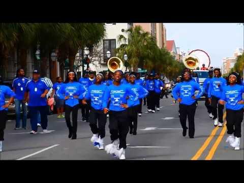 Burke HS JrROTC & Marching Band -  Emancipation Day Parade 2017