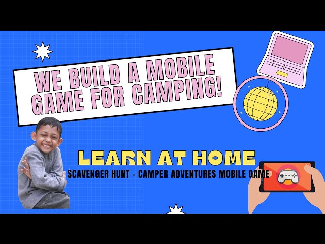 Scavenger Hunt - Camper Adventures mobile game