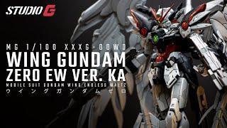 Gunpla Custom Build Mg Wing Gundam Zero Ew Ver Ka Youtube