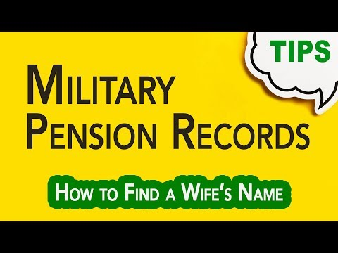 Searching Through Military Pension Records   Genealogy Clips   GC-067