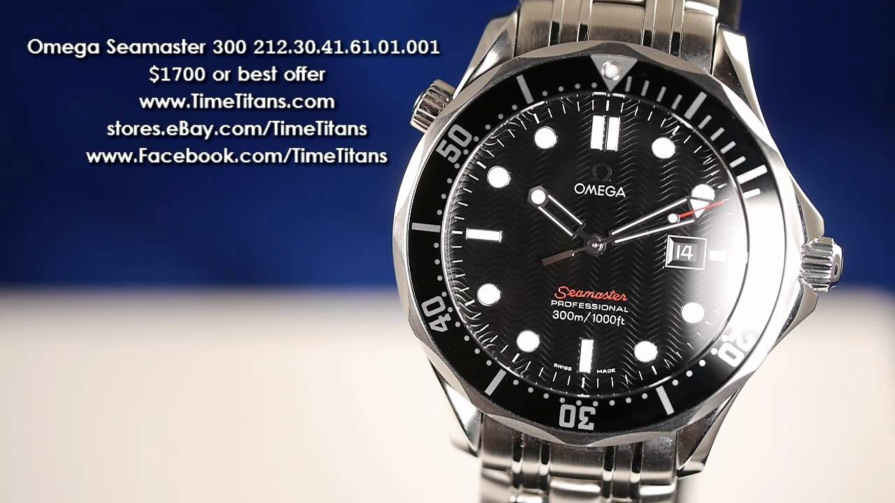 how to buy an omega seamaster 300