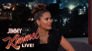 Salma Hayek Prefers Cursing in Spanish
