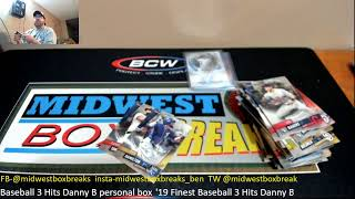 Midwest Box Breaks Topps Finest and Baseball Mixer Breaks