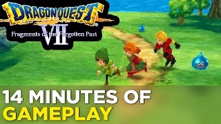 14 Minutes of DRAGON QUEST VII: FRAGMENTS OF THE FORGOTTEN PAST English Gameplay