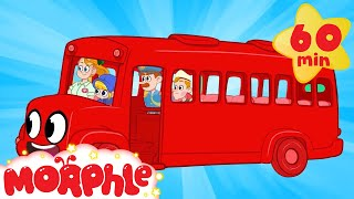 Red Bus Morphle | Cartoons for Kids | My Magic Pet Morphle | Morphle TV