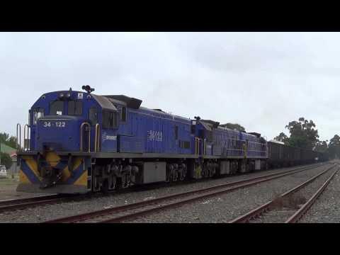 South African diesel locomotives in the Swartland - Part Nine