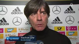 Joachim Löw ARD post-match interview - Niederlande vs Deutschland 13.10.18
