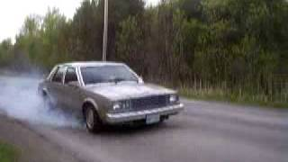 1984 buick skylark skid.