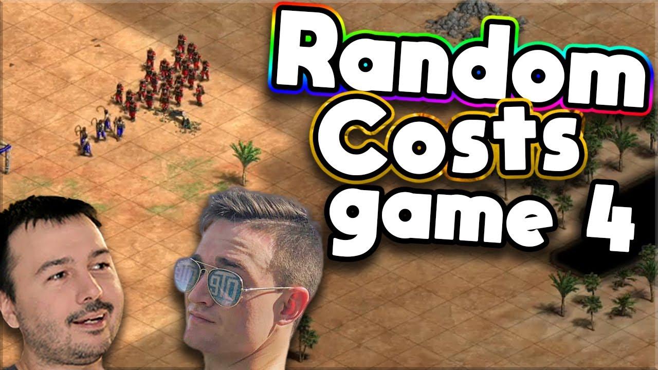 Random Costs Mod | T90 vs DauT (Game 4)