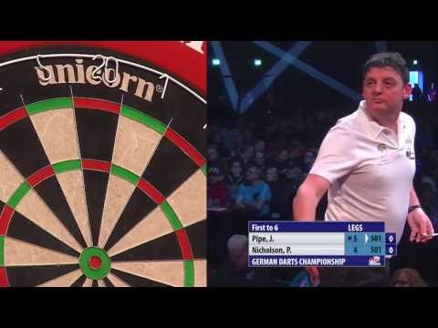 PDC German Darts Championship 2014 - Day 3 - Justin Pipe vs. Paul Nicholson