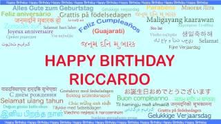 Riccardo   Languages Idiomas - Happy Birthday