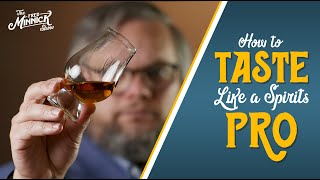 Learn How To Taṡte Bourbon