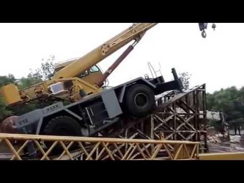 Короткобазный внедорожный кран✨ XJCM, ✨модель 👌QRY30A, 30 тонн, Китай, 2013 г, тест-драйв