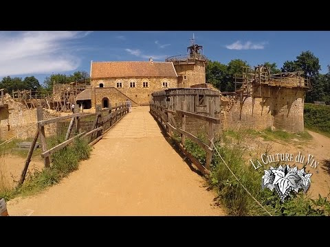 Guedelon - A Medieval Castle Constructed in Modern Times