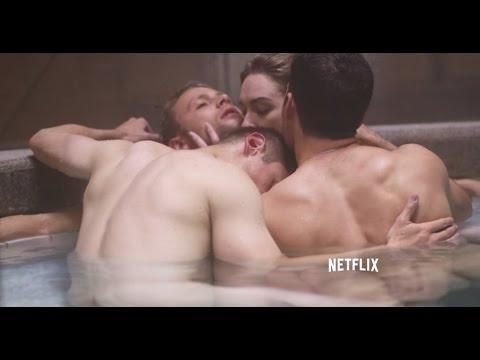Entrevistas Daryl Hannah, Naveen Andrews y más - Sense 8 (Netflix)