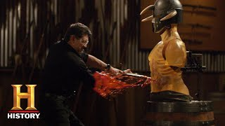 Forged in Fire: LETHAL and EPIC Broadsword Final Round (Season 7) | History