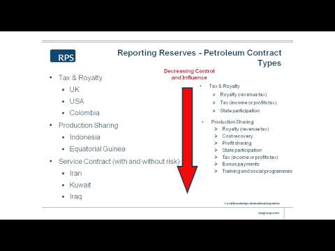 Petroleum Contract Types - 12/16