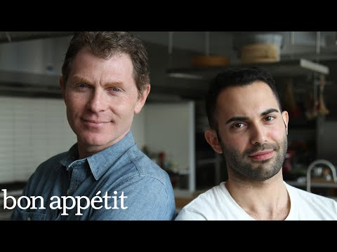 Bobby Flay vs. Andy: Battle of the Onion Rings | Bon Apptit