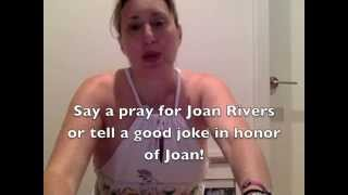 Joan Rivers Next Gig Heaven? Say Prayers & Say Something Funny