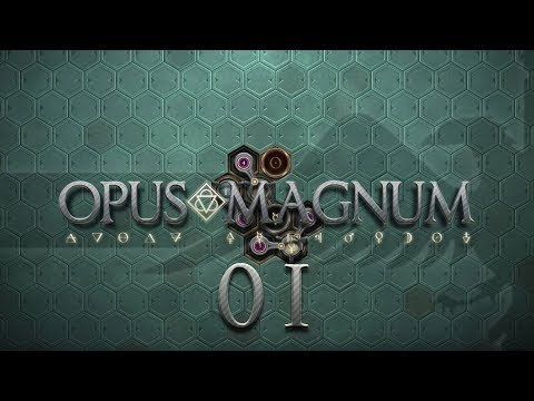 OPUS MAGNUM | HANGOVER CURE #01 Amazing Alchemist Game - Let's Play / Gameplay