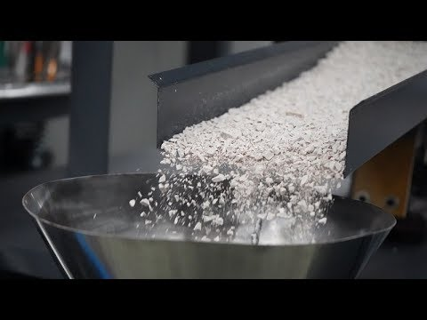 SPC Floor Crusher and Recycling Line