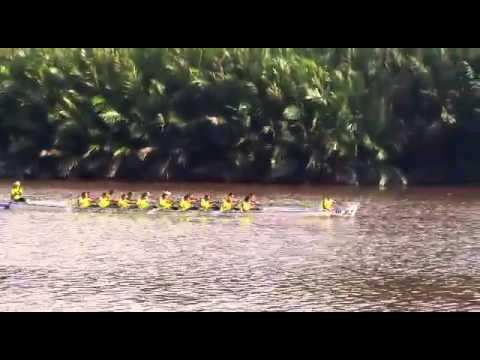 Gamta Dragon Boat Team win Regatta Tutong 2014