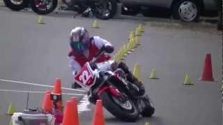 MotoGymkhana 2012 JAGE Round4 H1 StreetTriple Tabibito